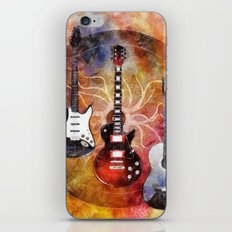 Guitar Love Trio iPhone & iPod Skin