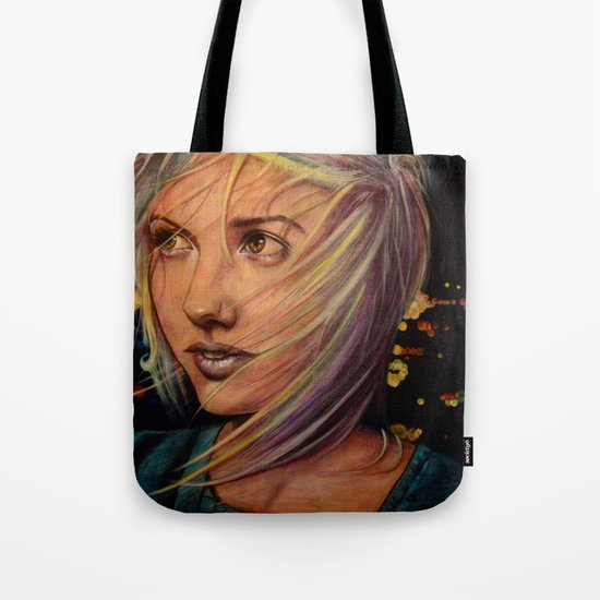 Wind Speaks While the City Sleeps (VIDEO IN DESCRIPTION!) Tote Bag