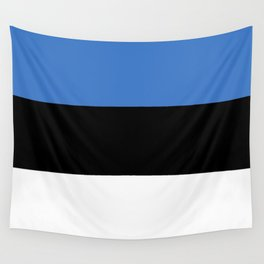 Flag of Estonia - Estonian,Eest,Baltic,Finnic,Sami, Skype,Arvo Part,Tallinn,Tartu, Narva,Snow, Cold Wall Tapestry