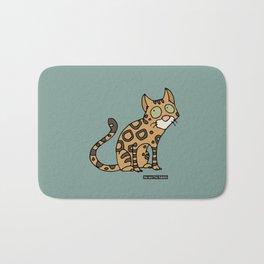 Cat - Bengal cat Bath Mat