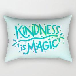 Kindness is Magic Rectangular Pillow