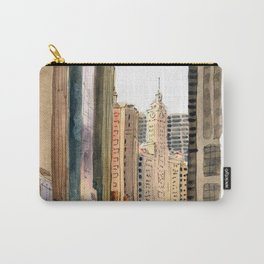 Chicago - Michigan Avenue Carry-All Pouch