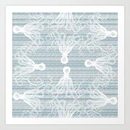 Obtuse squid Art Print