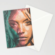 the S girl Stationery Cards