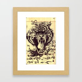 Root Framed Art Print