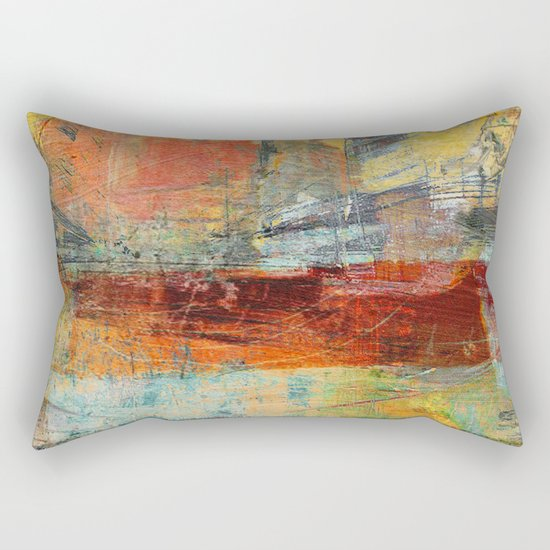 Heat Wave Rectangular Pillow