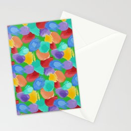 Blobs Pattern Stationery Cards