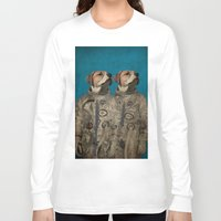 outer space Long Sleeve T-shirts featuring Journey into outer space by Durro