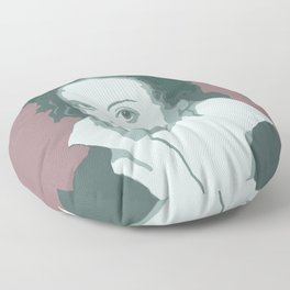 Percy Bysshe Shelley Floor Pillow
