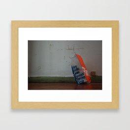 Rire Framed Art Print
