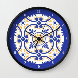 Floral design with exclusive pattern Wall Clock