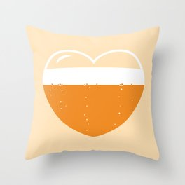 Brew Love - Amber Ale Throw Pillow