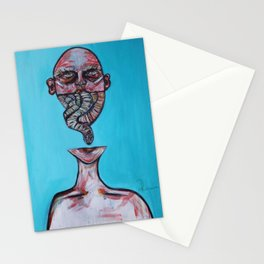 The Devil's Got Your Tongue Stationery Cards