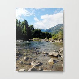 I Go Where The Mountains Take Me Metal Print