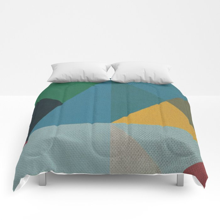 Geometric Thoughts 6 Comforters