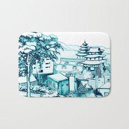 Samcheong dong  Bath Mat