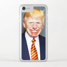 McDonald Trump Clear iPhone Case