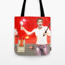 SquaRed: Opposite Tote Bag