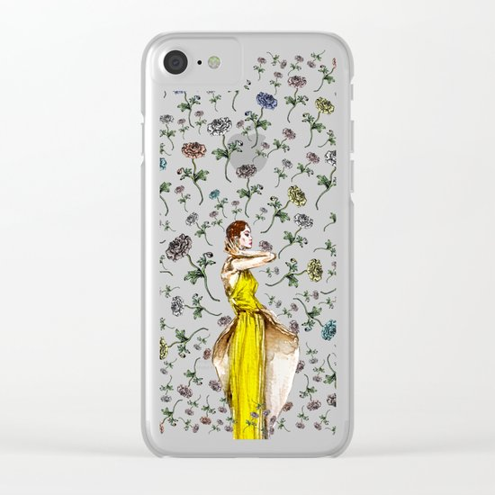 Paris Summer | The Flower Girl Clear iPhone Case