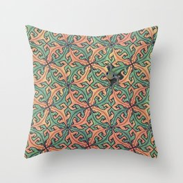 Escape Pattern Throw Pillow