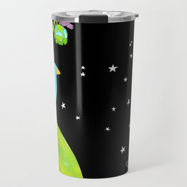 "Floating In Space (from the book, ""You, the Magician"") Travel Mug"