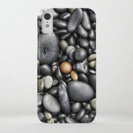 Blacksand Beach Rocks iPhone Case