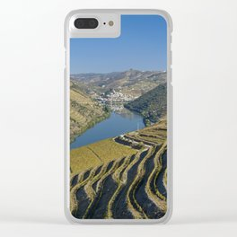 Vineyards in the Douro Valley, Portugal Clear iPhone Case