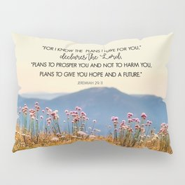 Jeremiah 29:11 Pillow Sham