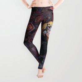 Code Romantic: Mina Poster Leggings