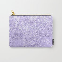 Lavender Glitter Dream #1 #shiny #decor #art #society6 Carry-All Pouch