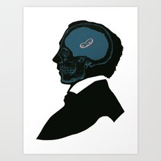 The Elitist Peanut Brain Art Print