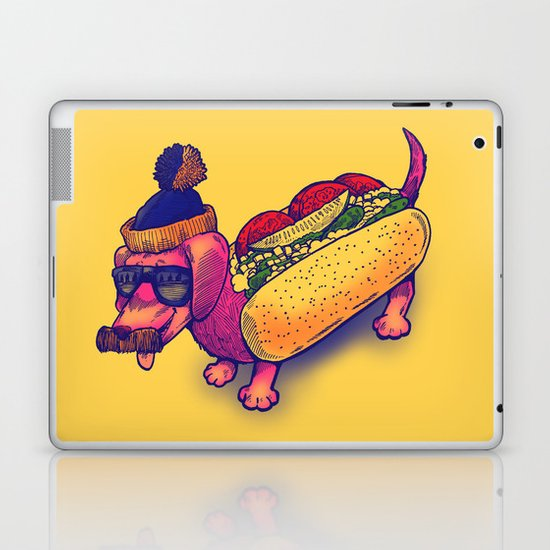 Chicago Dog Laptop & iPad Skin