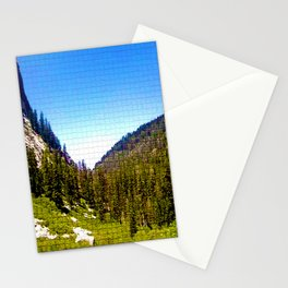 Mountain Valley Mosaic Stationery Cards