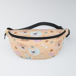 Yato Pups Ppomo Orange theme Fanny Pack