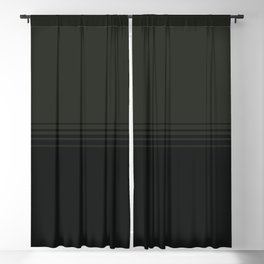 Deep Forest Horizontal Gradient Blackout Curtain