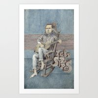 johnny cash Art Prints featuring Johnny Cash by Carmine Bellucci