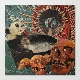 Turbine Panda Canvas Print