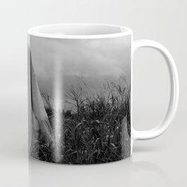 Ghost in the Field - Wide Coffee Mug