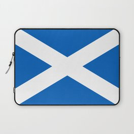 Flag of Scotland - High quality image Laptop Sleeve