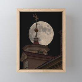 Moon Over Mount Vernon Framed Mini Art Print