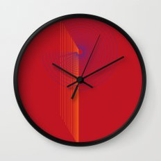 P like P Wall Clock