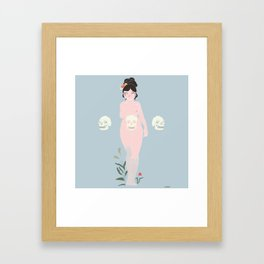 Our Lady Death Framed Art Print