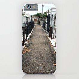 Mausoleum Row iPhone Case