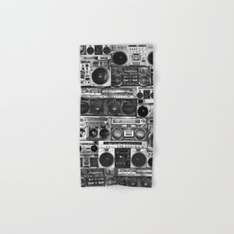 house of boombox Hand & Bath Towel