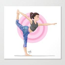 Dancer's Pose Canvas Print