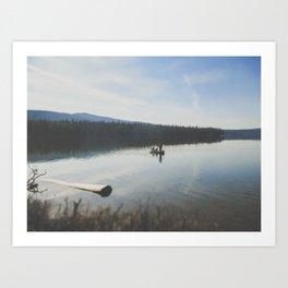 Calm Lake Art Print