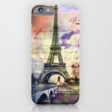 Eiffel Tower Paris Slim Case iPhone 6