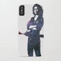 ripley iPhone & iPod Cases featuring Ellen Ripley - Alien by pennyprintables