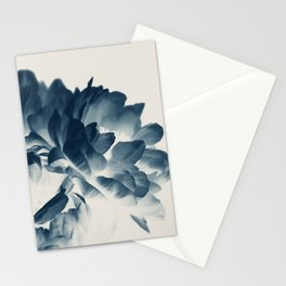 Blue Paeonia #3 Stationery Cards