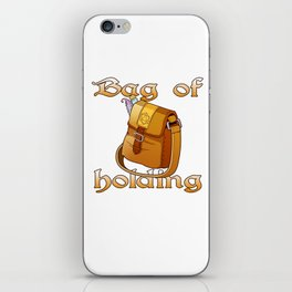 Role Playing Tabletop Gaming Print D20 Bag Holding RPG Tee iPhone Skin